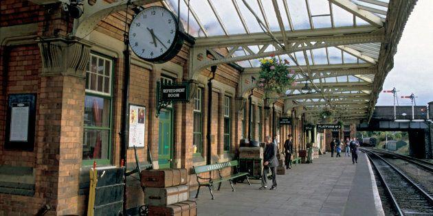 La stazione di Loughborough, in un'immagine di