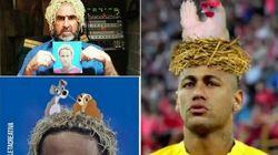 I capelli di Neymar hanno generato i meme più belli di questo