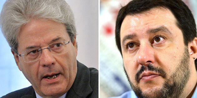 Gentiloni risponde a Salvini:
