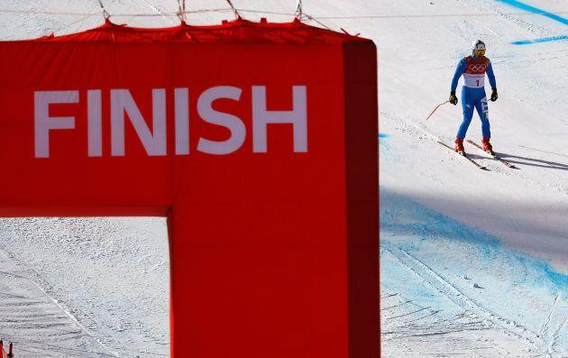 Alpine Skiing ? Pyeongchang 2018 Winter Olympics ? Men?s Super-G - Jeongseon Alpine Centre - Pyeongchang,...