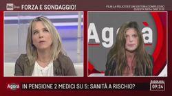 Francesca Barra, debutto confuso in tv. Abolizione del ticket? Sì, anzi no. Le coperture? Scena muta. E attacca