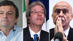Tre ministri e un governo stabile: Minniti, Calenda, Gentiloni si proiettano sul 5 marzo. Renzi resta sul 4