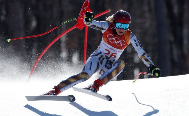 Alpine Skiing - Pyeongchang 2018 Winter Olympics - Women?s Super-G - Jeongseon Alpine Centre - Pyeongchang,...