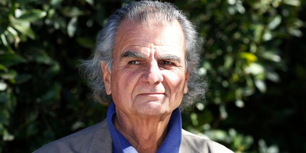 French fashion photographer Patrick Demarchelier poses at the first annual UNICEF Women of Compassion...