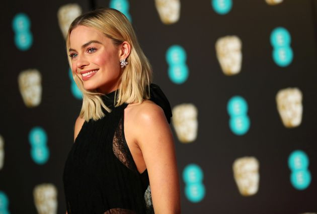 Margot Robbie arrives at the British Academy of Film and Television Awards (BAFTA) at the Royal Albert...