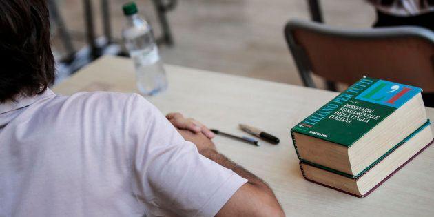 20/06/2'018 Roma, liceo Visconti, prima prova scritta degli esami di maturita', Vocabolario lingua