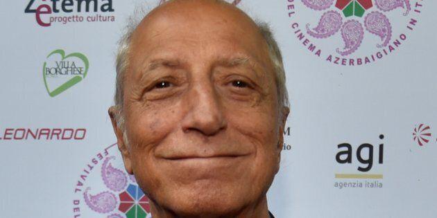 ROME, ITALY-JUNE 22: : Italian actor Pippo Franco attends the first Azerbaijan Film Festival, in Rome,...
