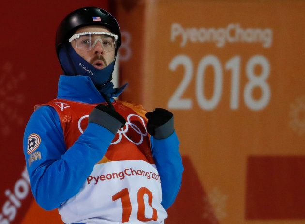 Freestyle Skiing - Pyeongchang 2018 Winter Olympics - Men's Aerials Finals - Phoenix Snow Park - Pyeongchang,...