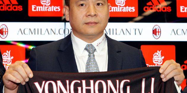 Milan, il cinese Li sull'orlo della bancarotta. Galliani: