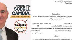 Fa propaganda con le mail e i numeri dell'Ordine degli avvocati: esposto al Garante della privacy per il candidato M5S Vaglio...