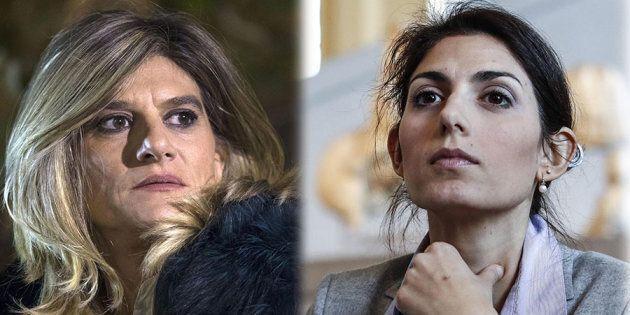 Federica Angeli contro Virginia Raggi: