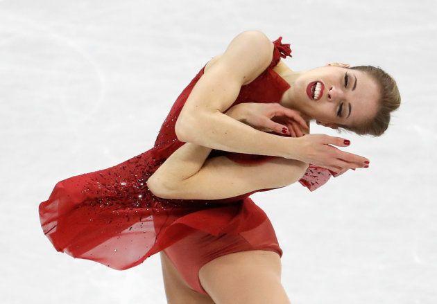 Figure Skating ? Pyeongchang 2018 Winter Olympics ? Team Event Women Single Skating short program ? Gangneung...