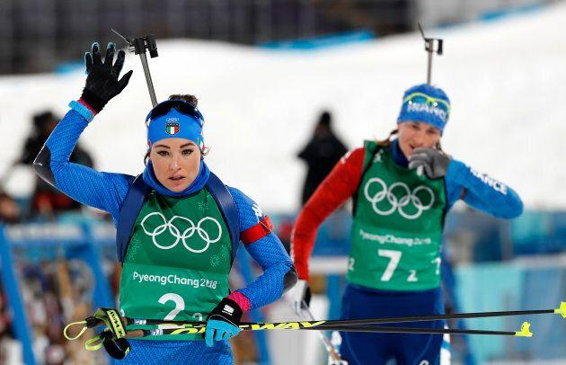 Biathlon - Pyeongchang 2018 Winter Olympics - Mixed Relay Final - Alpensia Biathlon Centre - Pyeongchang,...