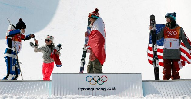 Freestyle Skiing - Pyeongchang 2018 Winter Olympics - Women's Ski Halfpipe Finals - Phoenix Snow Park...