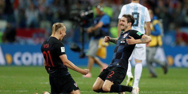 Soccer Football - World Cup - Group D - Argentina vs Croatia - Nizhny Novgorod Stadium, Nizhny Novgorod,...