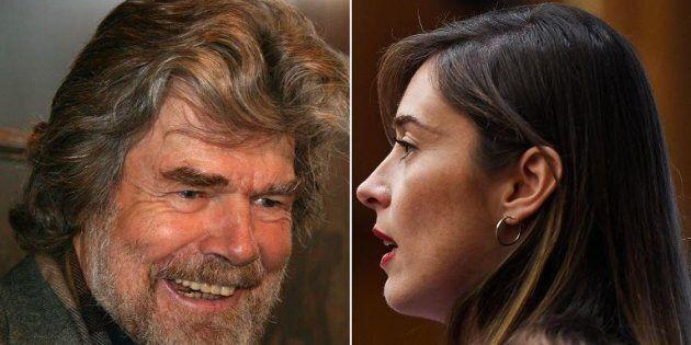 Reinhold Messner scende in campo per Maria Elena Boschi a Bolzano: