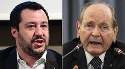 Salvini se la prende anche con il presidente della Consulta: