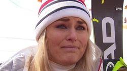 C'è un'altra campionessa che piange sul podio di Sofia Goggia. Ma per un'altra
