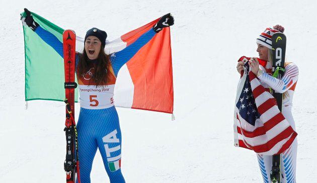 Alpine Skiing - Pyeongchang 2018 Winter Olympics - Women's Downhill - Jeongseon Alpine Centre - Pyeongchang,...