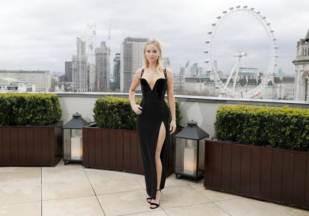 LONDON, ENGLAND - FEBRUARY 20: Jennifer Lawrence during the 'Red Sparrow' photocall at The Corinthia...