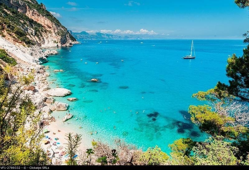 Cala Goloritz�, Baunei, Ogliastra province, Sardinia, italy,