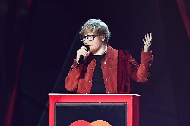 Ed Sheeran vincitore del Global Success