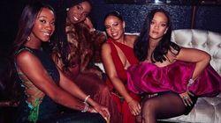La cantante Rihanna compie 30 anni e li festeggia in grande stile a New