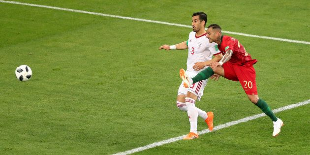 Soccer Football - World Cup - Group B - Iran vs Portugal - Mordovia Arena, Saransk, Russia - June 25,...
