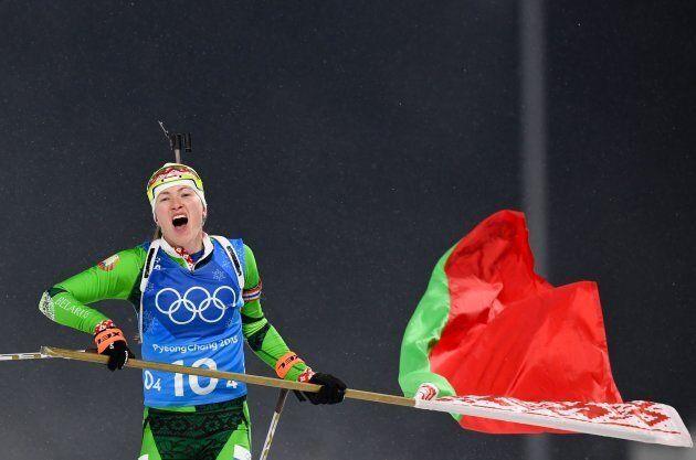 La donna che ha vinto più ori nel biathlon nella storia delle Olimpiadi è un'ex agente del