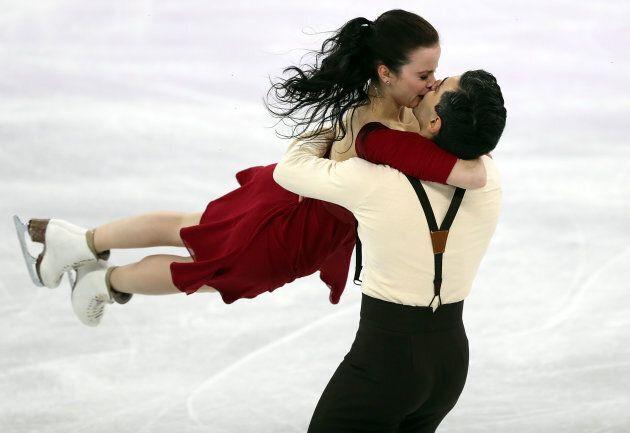 I pattinatori sul ghiaccio fidanzati tra loro prendono più punti solo in un caso molto