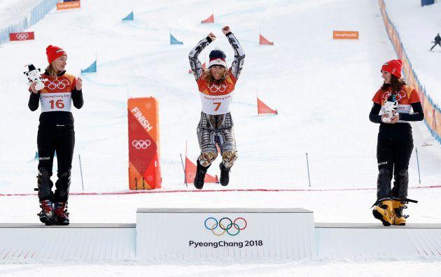 Snowboard - Pyeongchang 2018 Winter Olympics - Women's Parallel Giant Slalom Finals - Phoenix Snow Park...