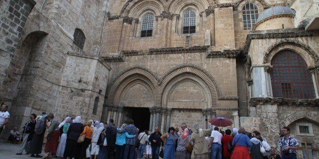 Santo Sepolcro a Gerusalemme chiuso per protesta contro le