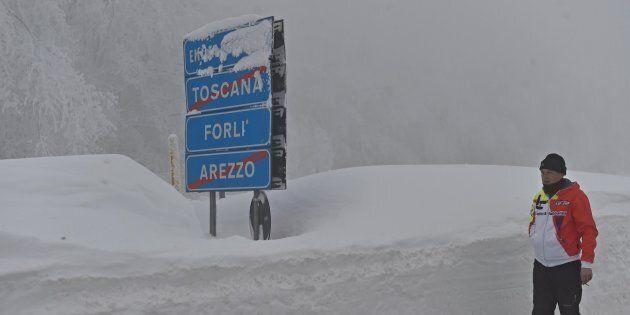 Freddo, neve e vento forte in tutta Italia. L'allerta della Protezione