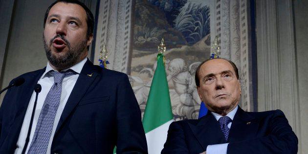 Per Silvio Berlusconi e Matteo Salvini, divorzio