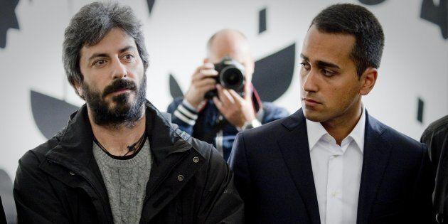Luigi Di Maio e Roberto Fico in un'immagine d'archivio.ANSA / CIRO