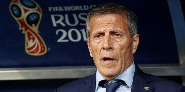 Soccer Football - World Cup - Round of 16 - Uruguay vs Portugal - Fisht Stadium, Sochi, Russia - June...
