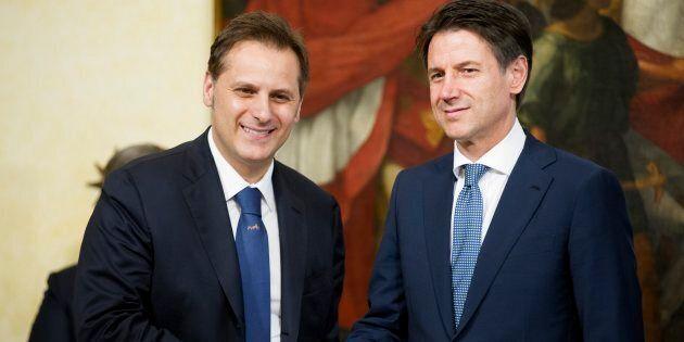 Nella foto Armando Siri con il premier