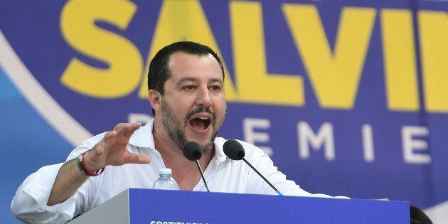 Matteo Salvini a Pontida: