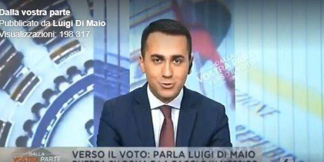 Luigi Di Maio e la gaffe sulla Raggi: