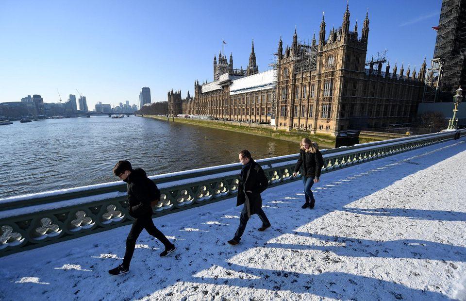 Neve, le foto dal mondo. Uno spettacolo in 10 scatti