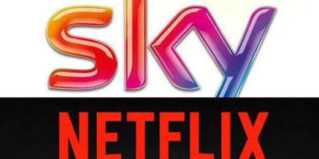 Matrimonio tra Sky e Netflix: nasce la più grande offerta