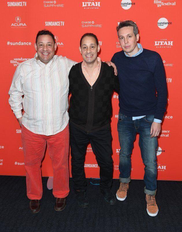 David Kellman e il fratello Robert 'Bobby' Shafran insieme al regista del documentario Tim