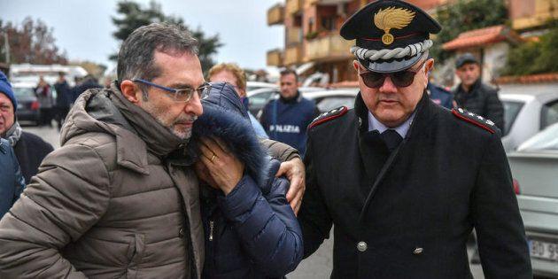 28/02/2018 Cisterna di Latina, Luigi Capasso, appuntato dei carabinieri, ha sparato con la pistola d'ordinanza...