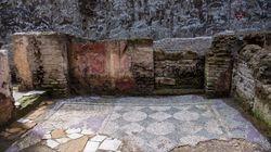 Scavi Metro C, scoperta domus del comandante della caserma. Risale all'epoca di Traiano e