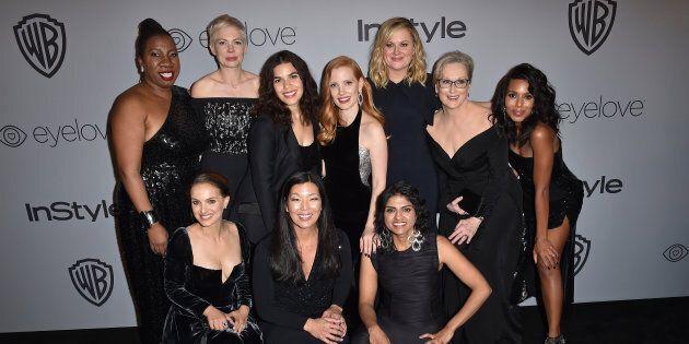 Oscar 2018, le star non indosseranno abiti neri per