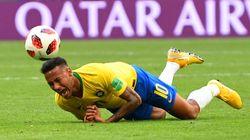 Una tv ha calcolato quanto tempo Neymar si è rotolato per terra ai