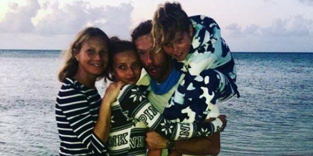 Questo messaggio di Gwyneth Paltrow all'ex Chris Martin dimostra che si può essere in ottimi rapporti...