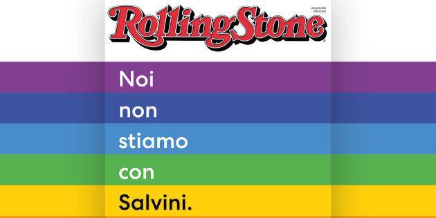 Rolling Stone, copertina contro Matteo