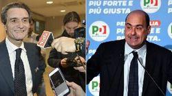 Fontana avanti in Lombardia al 38-42% e Zingaretti nel Lazio con il
