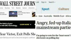 La sentenza dei giornali stranieri: